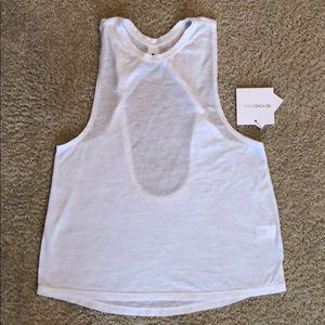 Beyond Yoga White Tank Sz XS